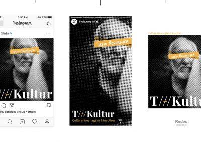 T-Kultur Propuesta gráfica redes sociales