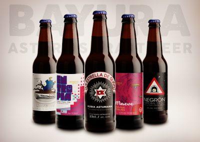 Selección de cervezas - Bayura