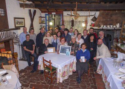 Foto de grupo de la primera edición Letra Guisada en El Llar de Viri