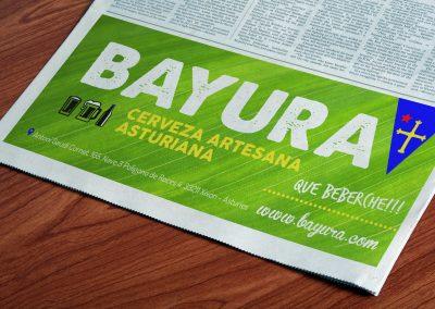 Propuesta para anuncio - Bayura
