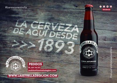 Poster La Estrella de Gijón