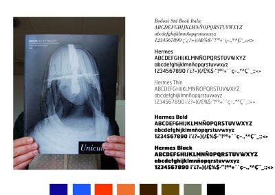 Selección tipografías Unicum